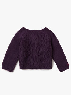 Purple CARDIGAN VAMARTINE / 20H1BFU1CAR711