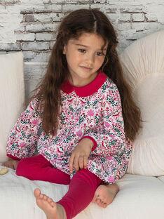 Baby Mädchen lange Ärmel Nachthemd und Leggings BEBINETTE / 21H5PF62CHN001