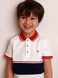 Kind Junge Junge Polohemd ZAZPLAGE2 / 21E3PGK3POL001