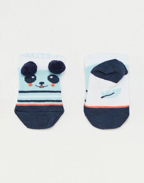 Panda-Baby-Socken Jungen TAPOL / 20E4BGP1SOBC200