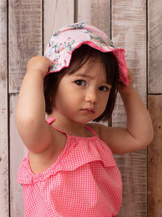 Clear pink HAT ZASABLE / 21E4BFU1CHA321