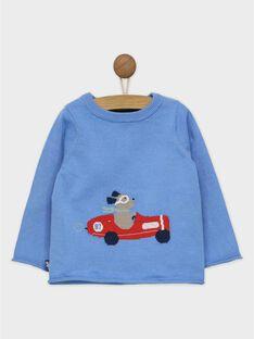 Blauer Pullover RAPAPEL / 19E1BGH1PUL706