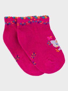 Kurze Socken Fuchsia RAROSA / 19E4BFM1SOB304