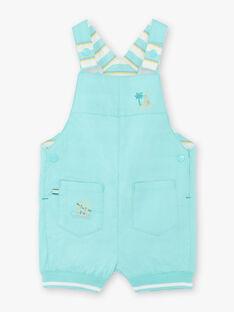 Kurze Latzhose blau türkis baby boy ZATAHAR / 21E1BGU1SAC202