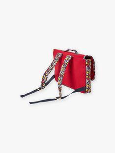 Roter Schulranzen mit Fantasie-Design für Mädchen BICARETTE / 21H4PF51BES050