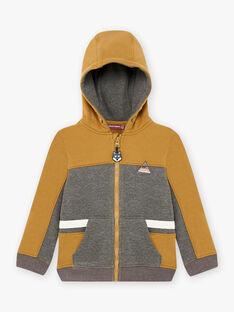 Zweifarbiger Baby Boy's Zip Hoodie BIABAGE / 21H3PGJ1GIL944