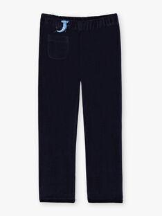 Entenblaues Pyjama-T-Shirt und -Hose für Jungen BEMERAGE / 21H5PG62PYJ714