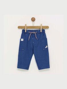 Jeansblaue Hose RANINO / 19E1BGE1PAN704