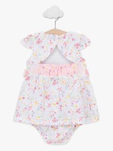 Babykleid mit Blumenprint für Mädchen TALAURIE / 20E1BFJ2ROB000