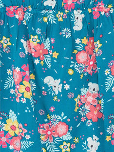 Blaue Lagune gemustertes Top mit ausgefallenen Motiven für Kinder und Mädchen ZAEBOETTE 2 / 21E2PFS1DEB210