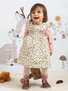 Baby Girl's geblümtes Druckkleid BAIME / 21H1BFJ1CHS001