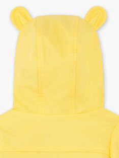 Yellow RAIN COAT ZUBADI / 21E1BGM1IMPB105