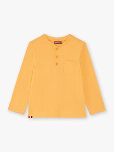 Gelbes Jungen-T-Shirt BUXOLAGE1 / 21H3PGB3TML113