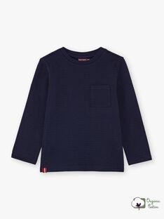 Marineblaues T-Shirt für Jungen BUTILAGE1 / 21H3PGB1TML070