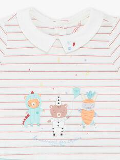 Blau und blau Strampler Baby Junge ZEDAMA / 21E5BG23GRE001