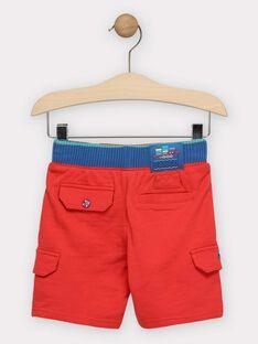 Rote Bermuda-Shorts für Jungen TUBABAGE / 20E3PGW1BER050